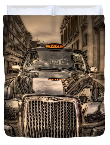 Ride With Me Duvet Cover by Evelina Kremsdorf