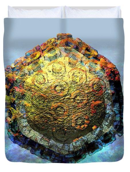Rift Valley Fever Virus 2 Duvet Cover by Russell Kightley