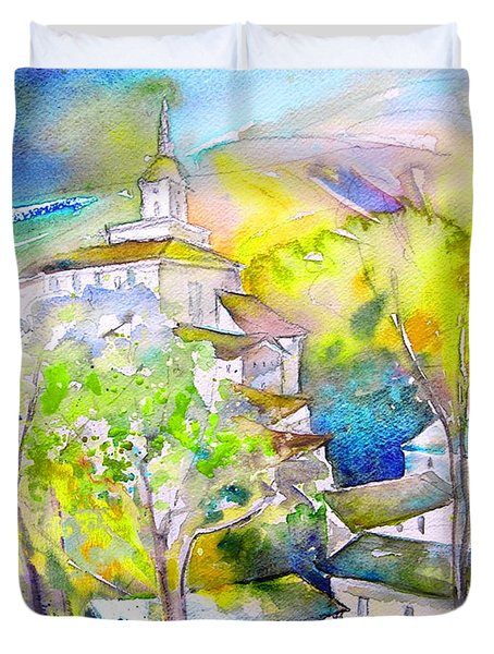 Rioja Spain 04 Duvet Cover by Miki De Goodaboom