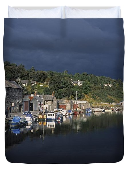 River Barrow, Graiguenamanagh, Co Duvet Cover by The Irish Image Collection