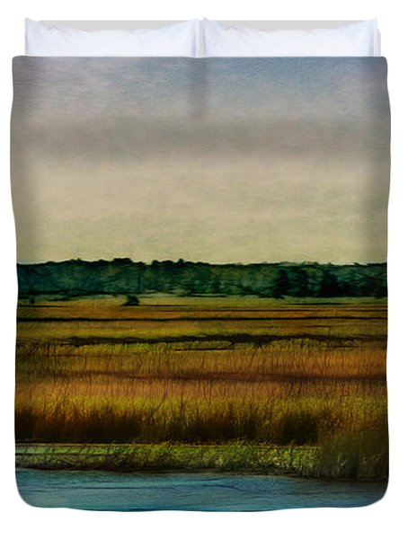 River Of Grass Duvet Cover by Judi Bagwell