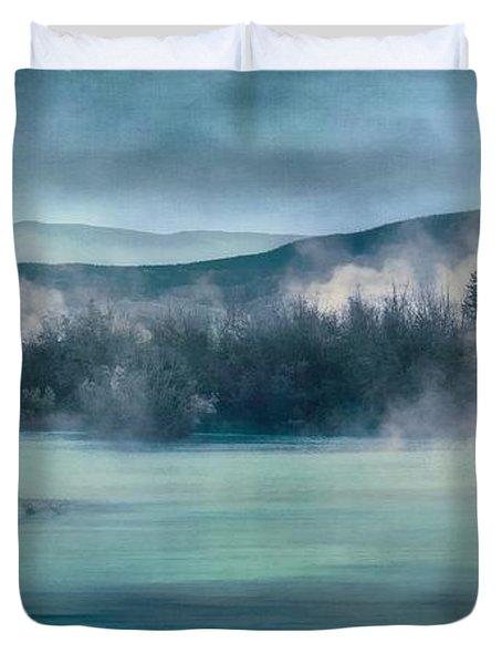 River Song Duvet Cover by Priska Wettstein