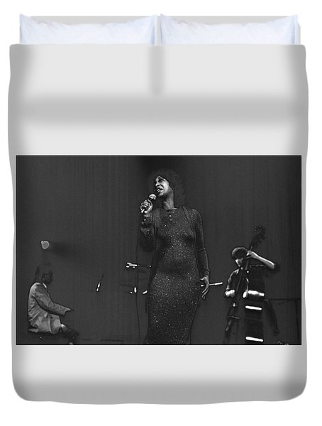 Roberta Sweed Duvet Cover by Dragan Kudjerski