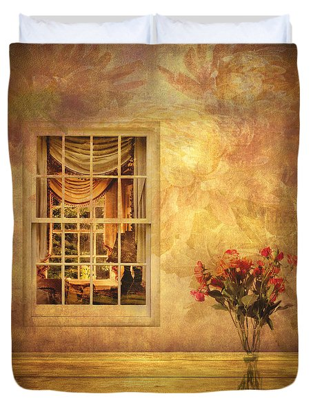 Room With A View Duvet Cover by Jessica Jenney