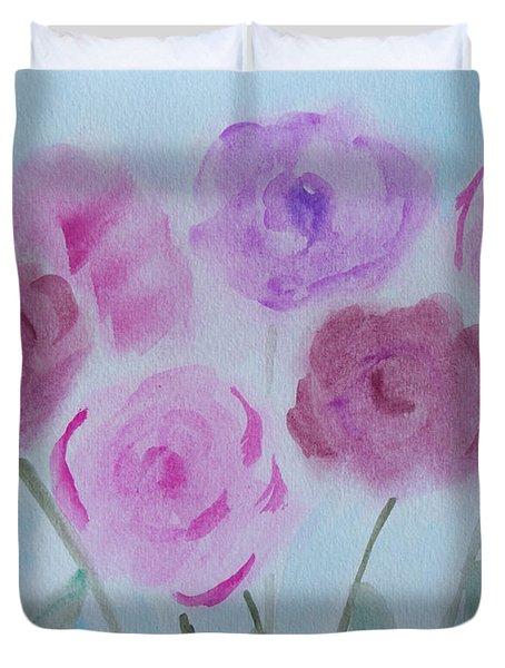 Roses Duvet Cover by Heidi Smith