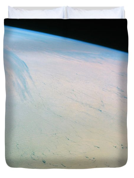 Ross Ice Shelf, Antarctica Duvet Cover by NASA / Science Source
