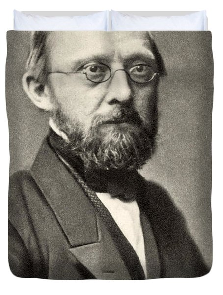 Rudolph Virchow, German Polymath Duvet Cover by Photo Researchers