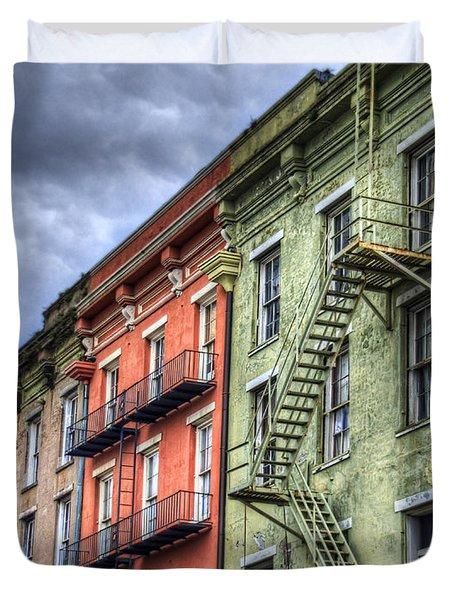 Rue Bienville Duvet Cover by Tammy Wetzel