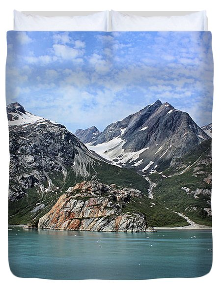 Russell Island Duvet Cover by Kristin Elmquist