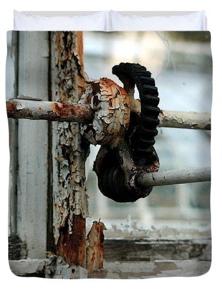 Rust Duvet Cover by Maglioli Studios