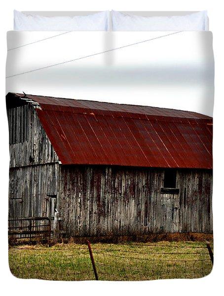 Rustic Barn 2 Duvet Cover by Marty Koch