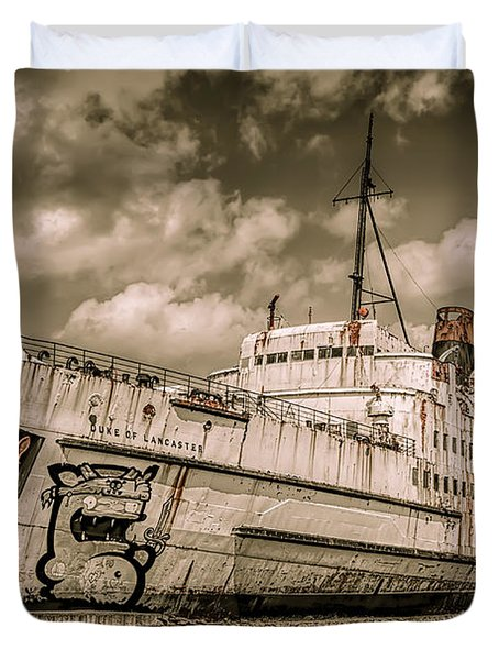Rusty Duke Duvet Cover by Adrian Evans