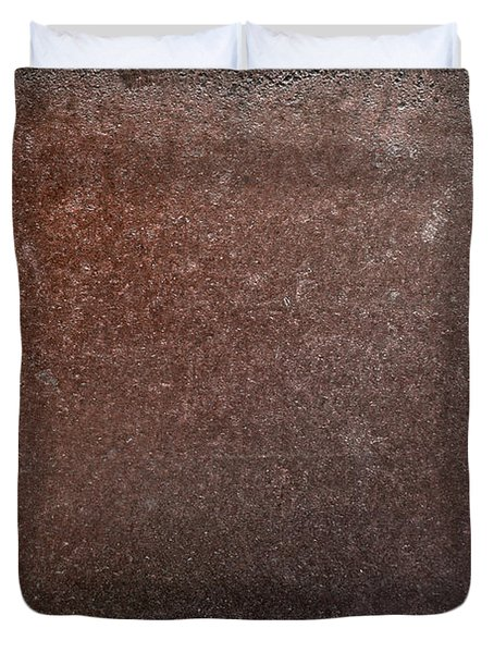 Rusty Iron Duvet Cover by Carlos Caetano
