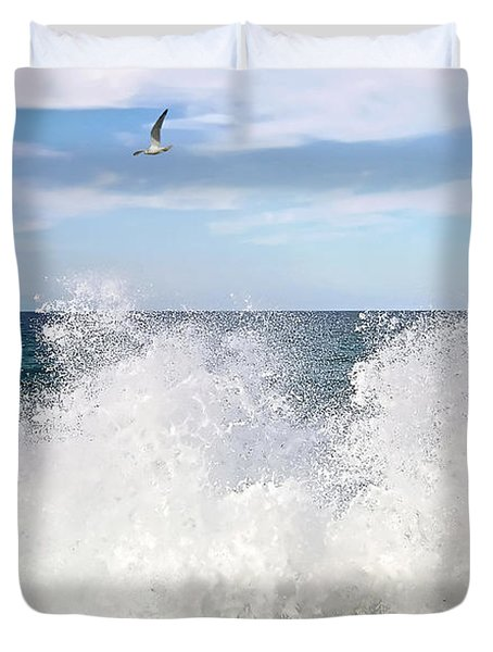 S P L A S H Duvet Cover by Kaye Menner