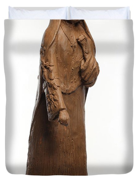 Saint Rose Philippine Duchesne Duvet Cover by Adam Long