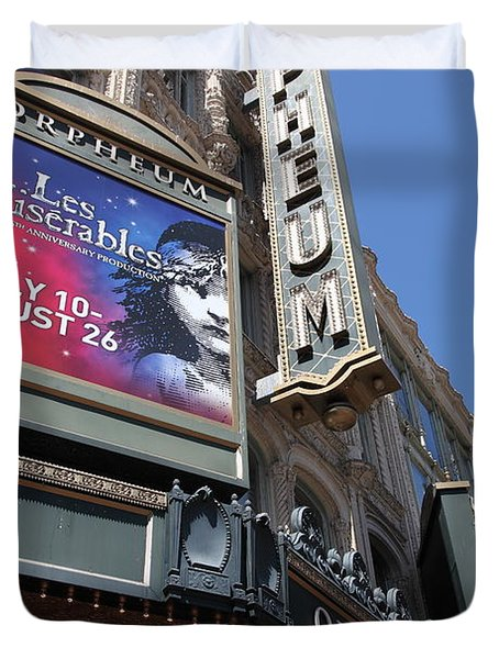 San Francisco Orpheum Theatre - 5d17990 Duvet Cover by Wingsdomain Art and Photography