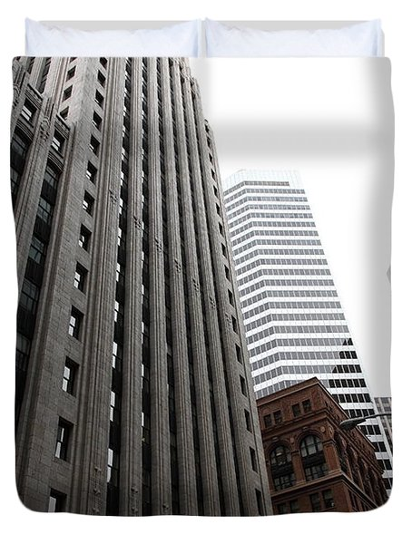 San Francisco Shell Building - 5d17860 Duvet Cover by Wingsdomain Art and Photography
