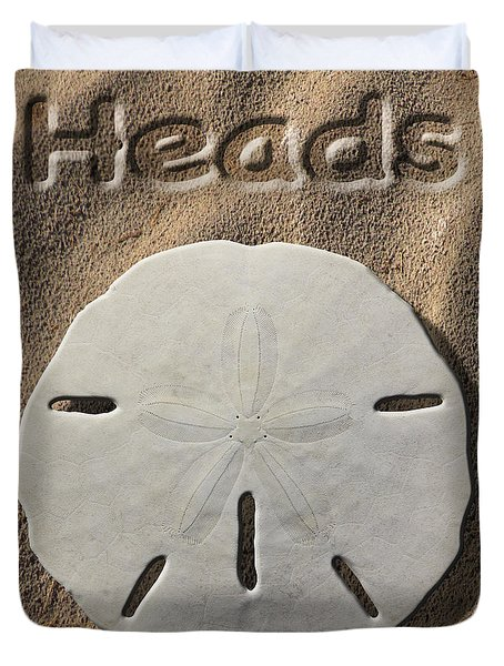 Sand Dollar Heads Duvet Cover by Mike McGlothlen