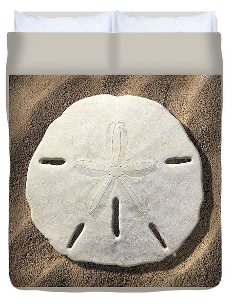 Sand Dollar Duvet Cover by Mike McGlothlen
