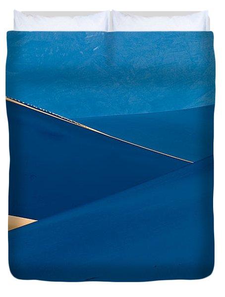Sand Dunes Sunrise Duvet Cover by Steve Gadomski