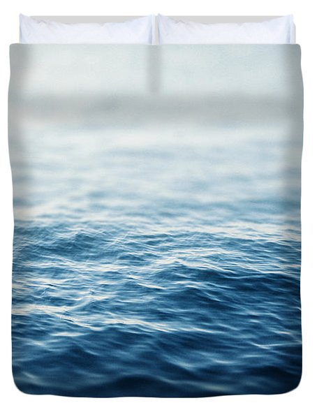 Sapphire Waters Duvet Cover by Lisa Russo