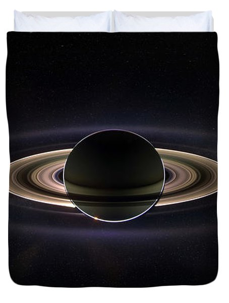 Saturn Duvet Cover by Dale Jackson