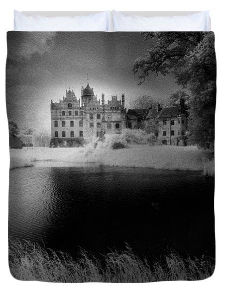 Schloss Basedow Duvet Cover by Simon Marsden