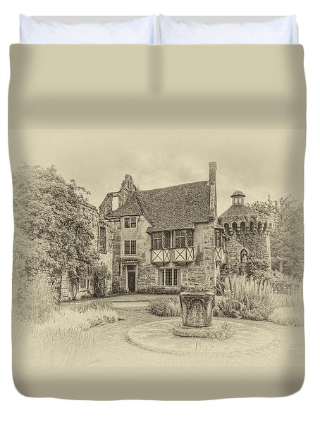 Scotney Castle Duvet Cover by Chris Thaxter