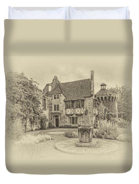 Scotney Castle Duvet Cover by Chris Thaxter