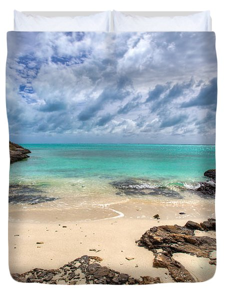 Secret of West Harbour Duvet Cover by Chad Dutson