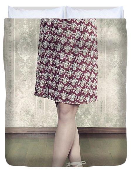 Self-confidence Duvet Cover by Joana Kruse