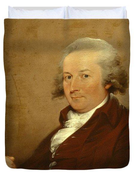 Self-portrait Duvet Cover by John Trumbull