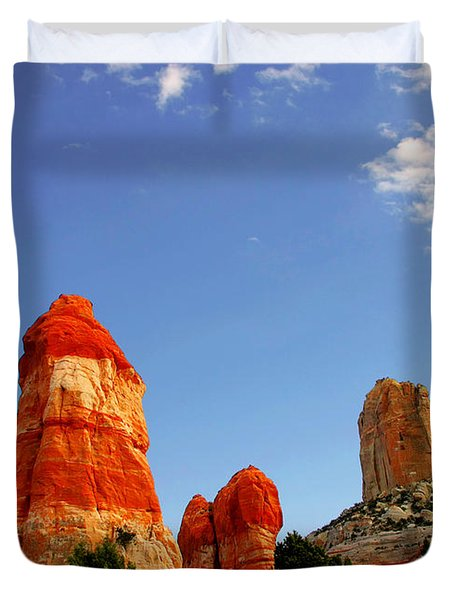 Sensuous Sandstone Duvet Cover by Christine Till