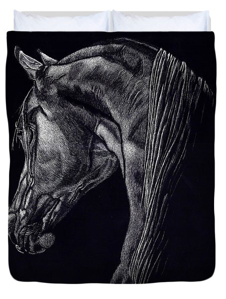 Shadow Duvet Cover by Yenni Harrison