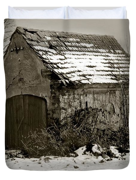 Shed Duvet Cover by Marcin and Dawid Witukiewicz