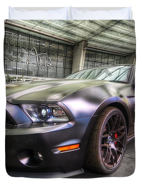 Shelby Gt500kr Duvet Cover by Yhun Suarez