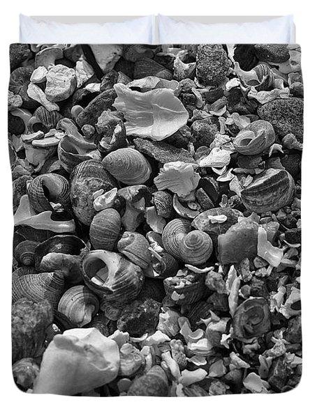 Shells Iv Duvet Cover by David Rucker