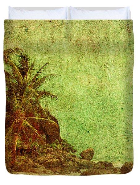 Shipwrecked Duvet Cover by Andrew Paranavitana