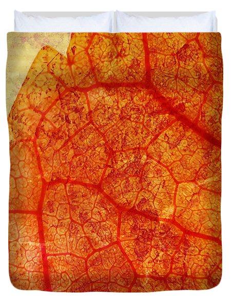 Silent Poetry Duvet Cover by Brett Pfister