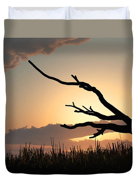 Silhouette Duvet Cover by Bob Orsillo