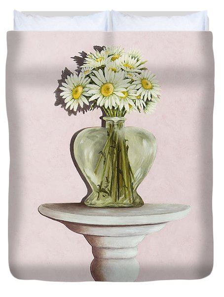 Simple Things Duvet Cover by Mary Ann King