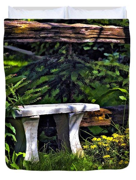 Sit A Spell Duvet Cover by Steve Harrington