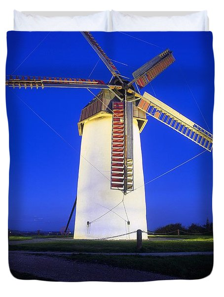 Skerries Mills Co Fingal, Ireland Duvet Cover by The Irish Image Collection