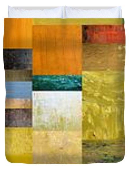 Skinny Color Study l Duvet Cover by Michelle Calkins