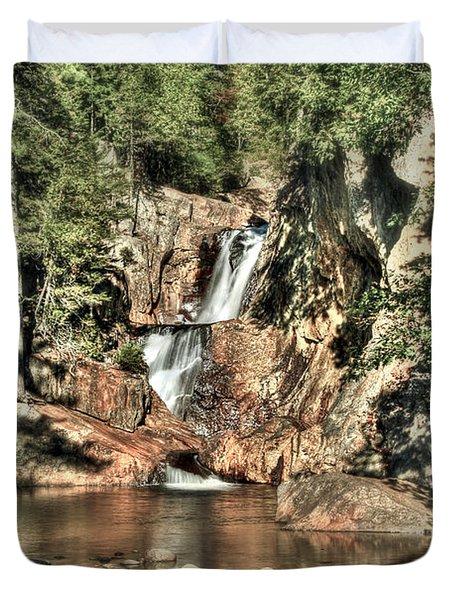 Small Falls Duvet Cover by Brenda Giasson