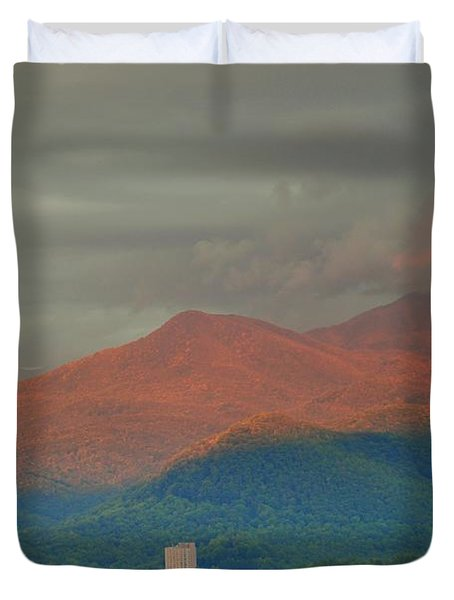 Smoky Mountain Way Duvet Cover by Frozen in Time Fine Art Photography