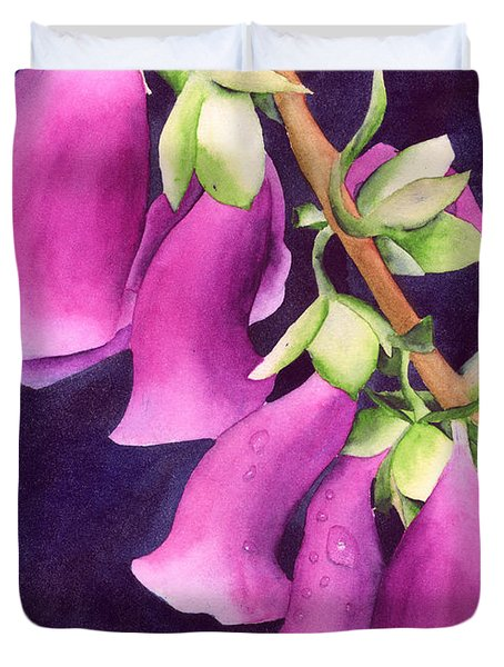 Snoqualmie Dew Duvet Cover by Ken Powers