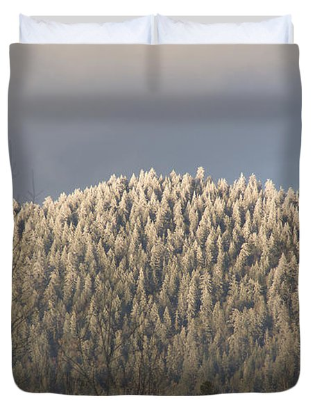 Snowlight Duvet Cover by Mick Anderson