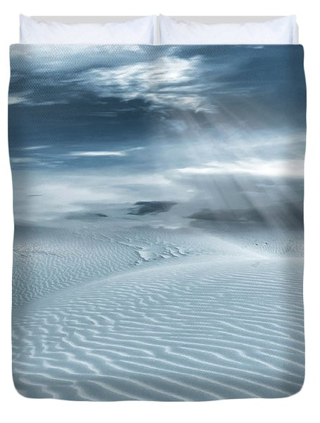 Solace Duvet Cover by Lourry Legarde