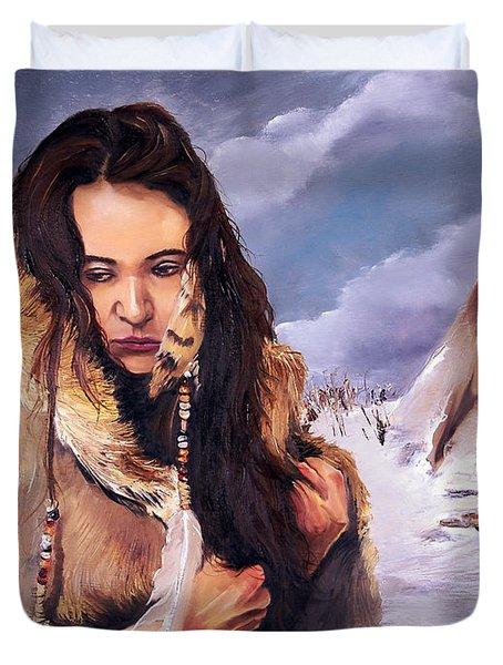 Solitude Duvet Cover by J W Baker